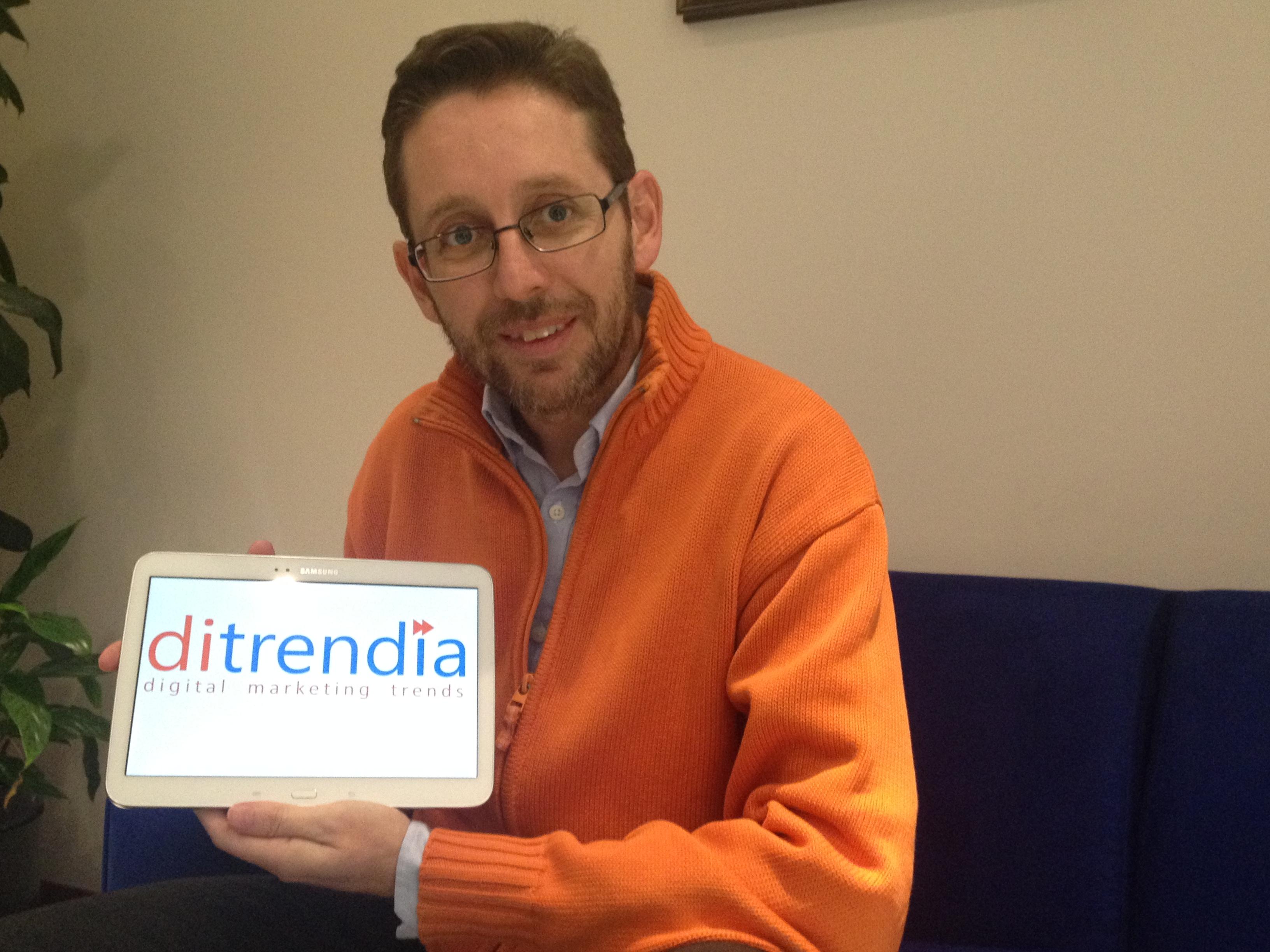 Fernando Rivero nuevo CEO de Ditrendia